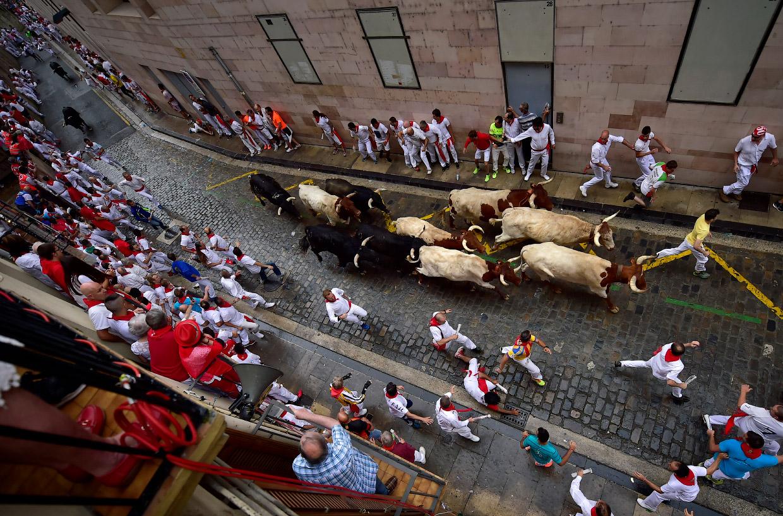 Фестиваль Сан Фермин 2018 в Испании