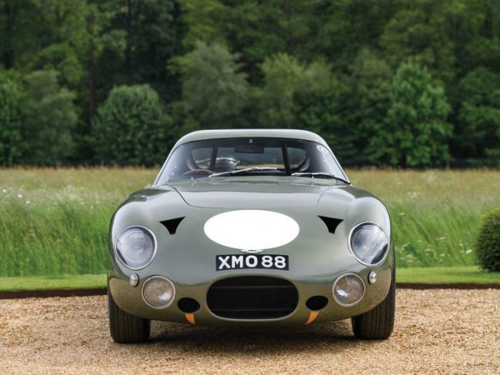 Уникальный гоночный Aston Martin 1963 года