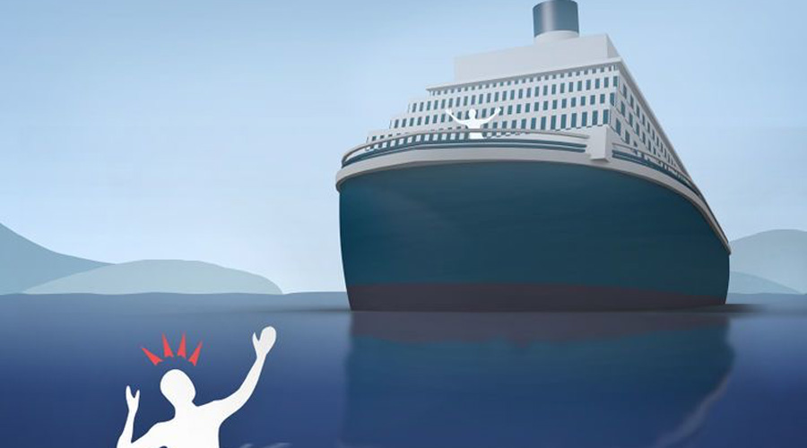 Что делать, если вы упали за борт корабля