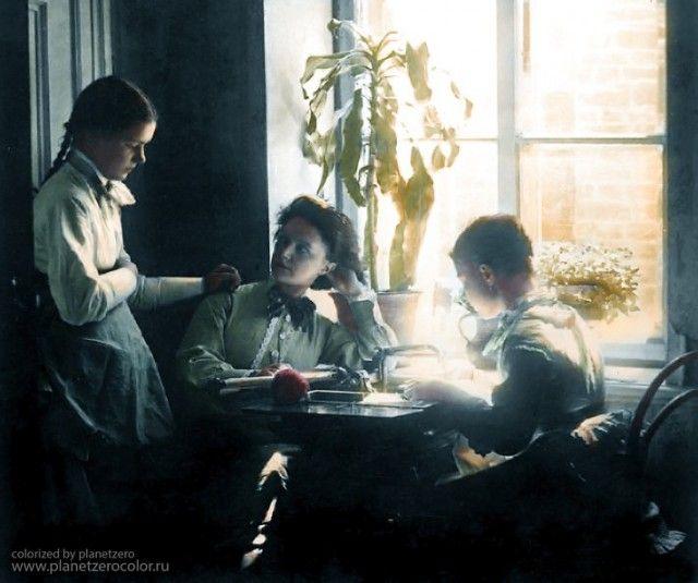 Фотографии России начала 20-го века в цвете