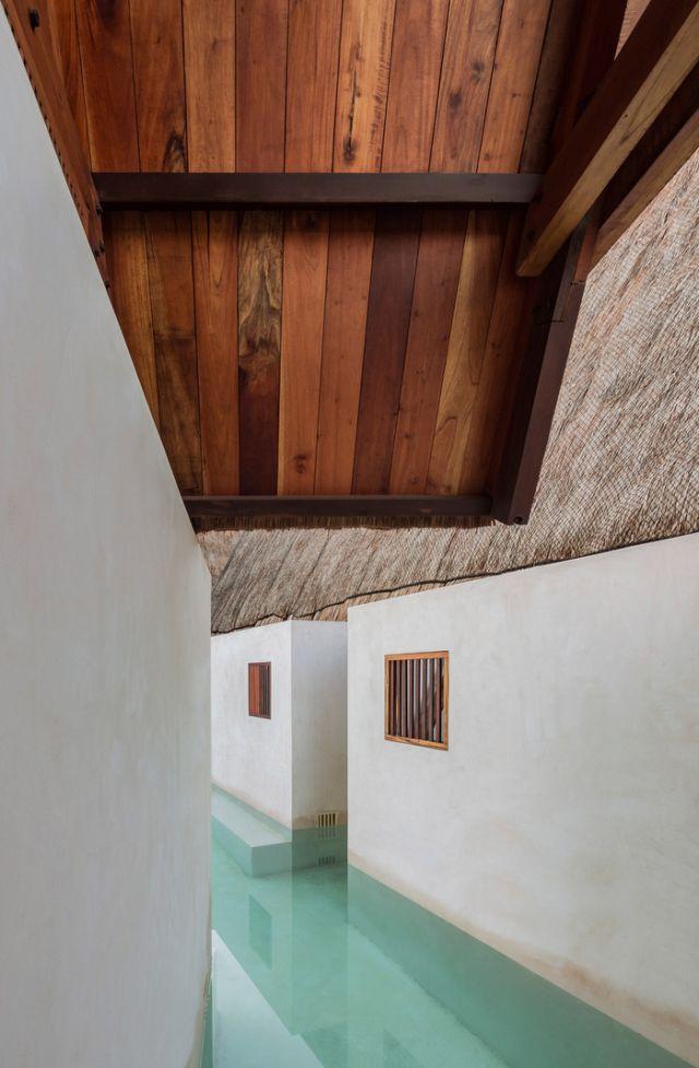 Необычный отель Punta Caliza в Мексике