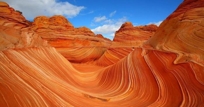 Аризонская волна: уникальный песчаный заповедник США