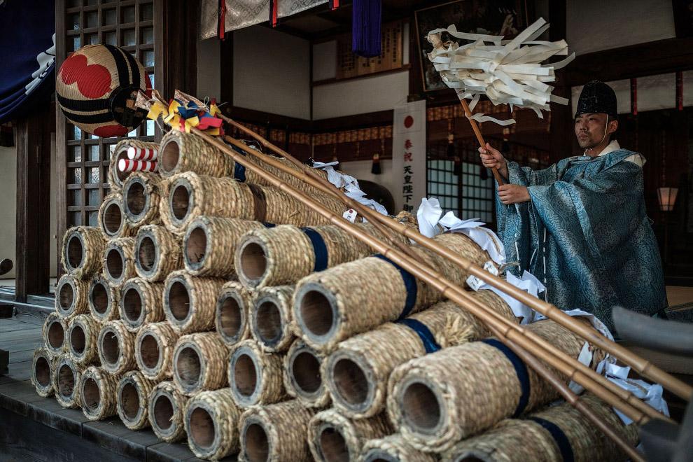 Крупнейший фестиваль фейерверков в Японии