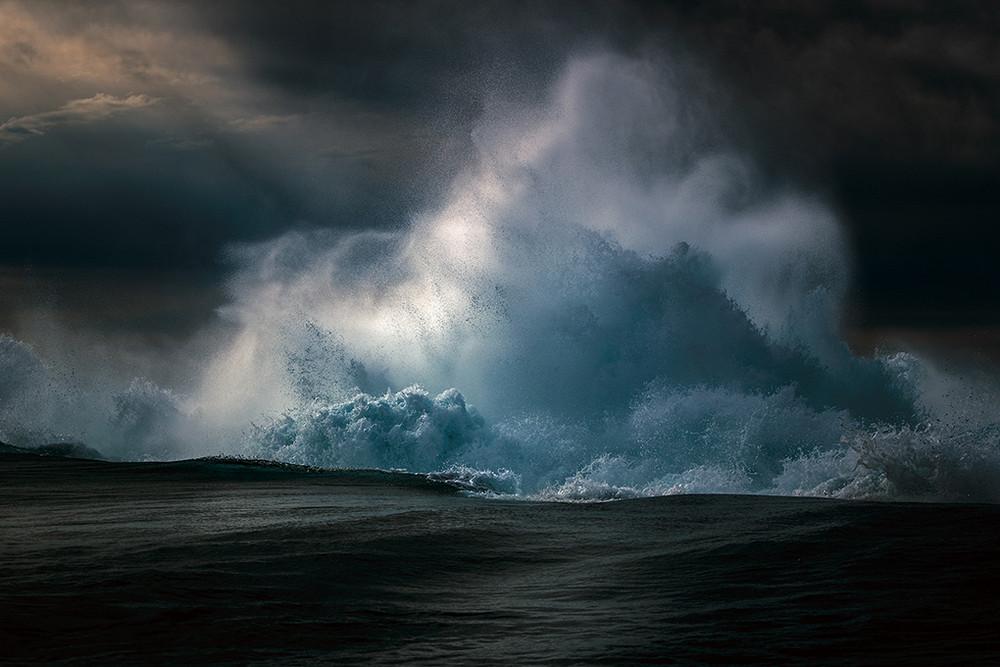 Симфония волн на снимках Рэя Коллинза