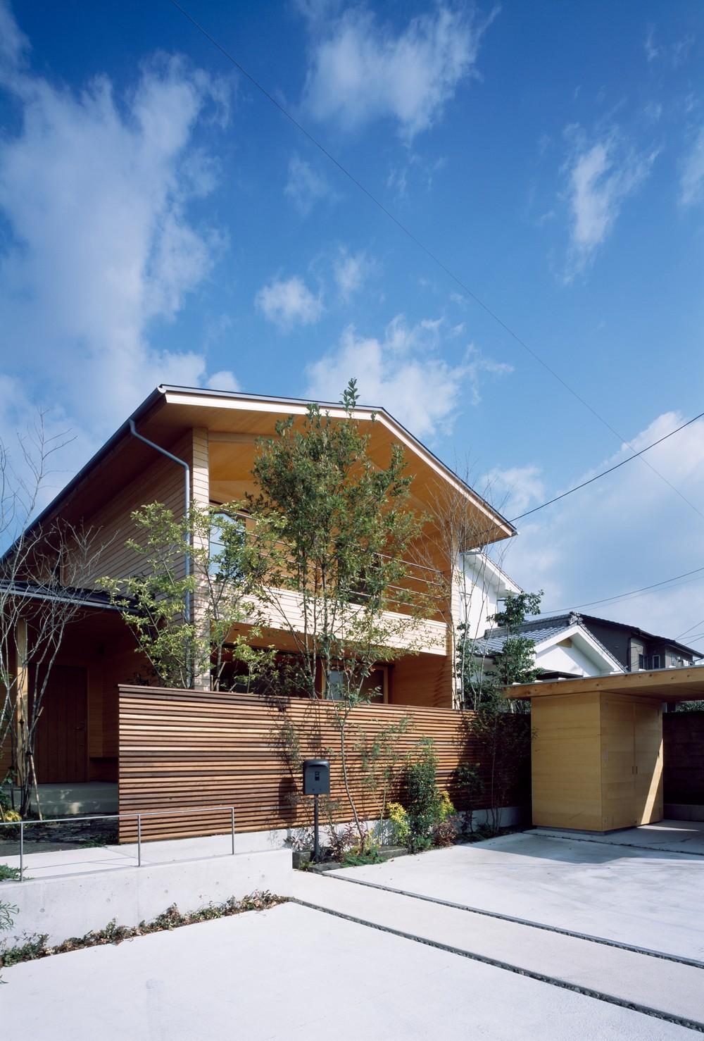 Городской дом в Японии