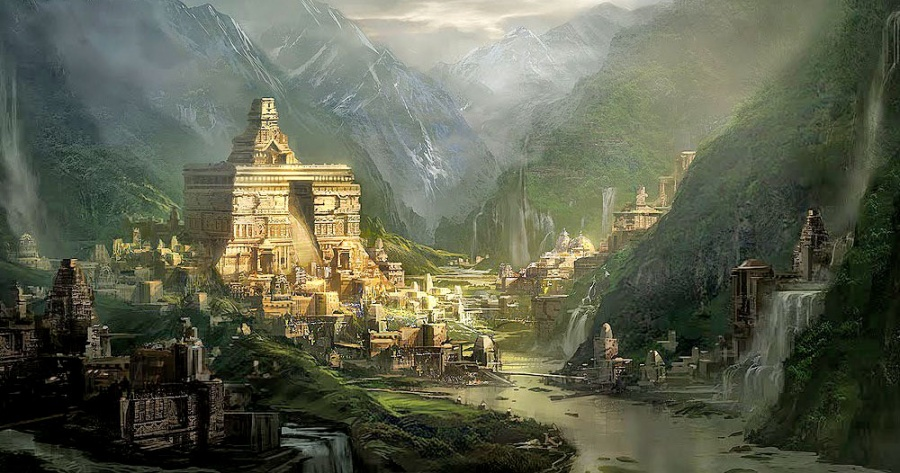 Интересные места из мифологии