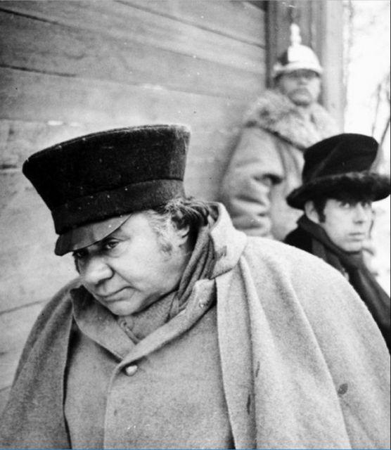 Редкие кадры со съемок советского кино