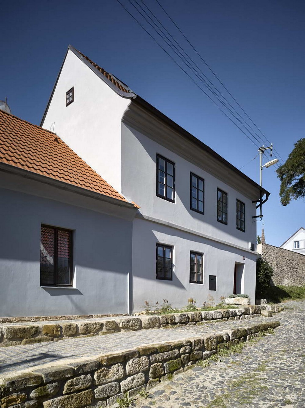 Реконструкция ветхого дома в Чехии