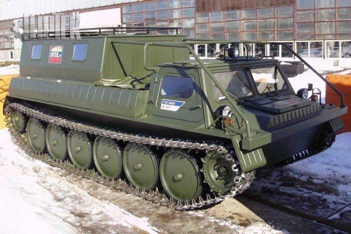 Необычная советская и российская спецтехника и вездеходы