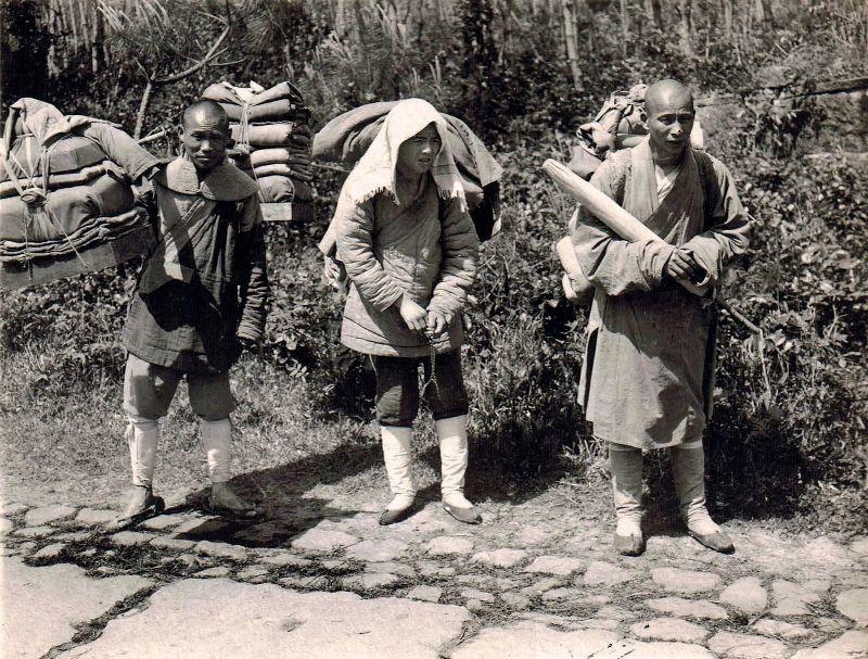 Жизнь Китая на снимках 1921 года