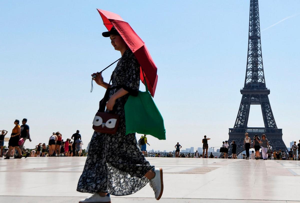 Лето 2018: европейцы спасаются от жары