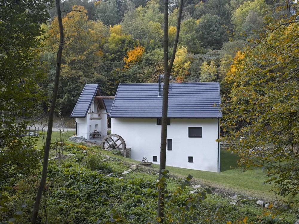Реконструкция мельницы в Чехии