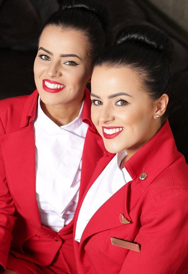 Идентичные близняшки-стюардессы ведут идентичные жизни
