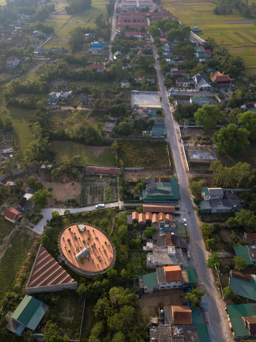 Дом с парком на крыше во Вьетнаме