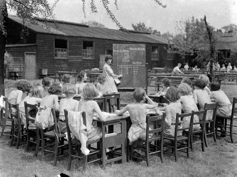 Школы под открытым небом для борьбы с туберкулезом