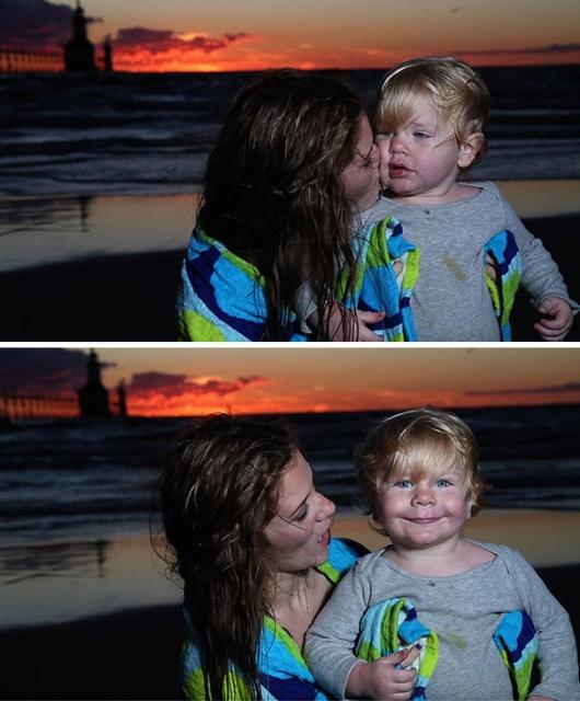 Дети умеют круто выглядеть на фотографиях