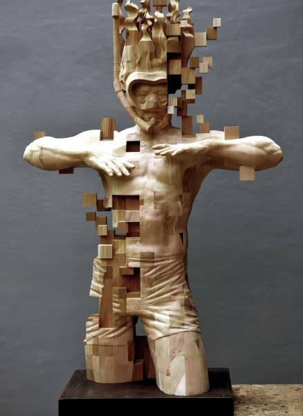 Небольшая подборка креативного современного искусства