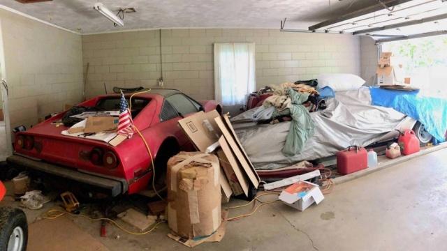 Дорогостоящая находка в старом бабушкином гараже