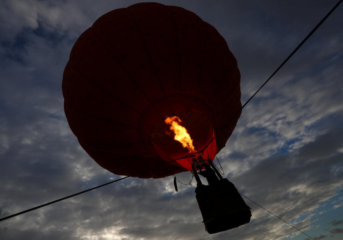 Фестиваль воздушных шаров в Великобритании