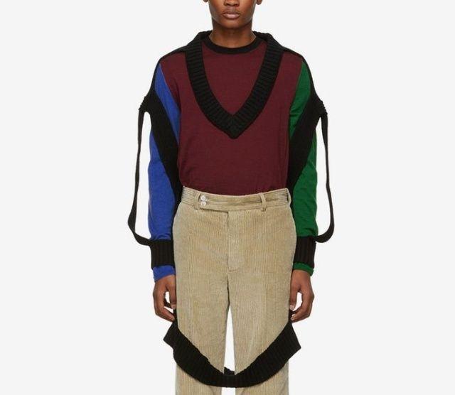 Модный свитер за 940 баксов, которого практически нет