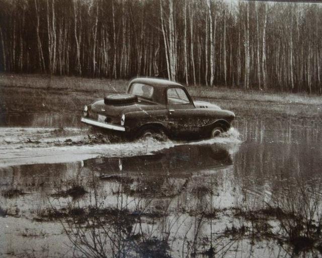 Необычный внедорожник 1950-х годов: М-73 Украинец