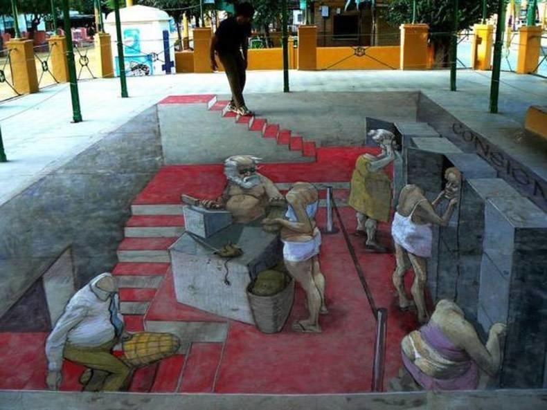 Вдохновляющие произведения уличного искусства