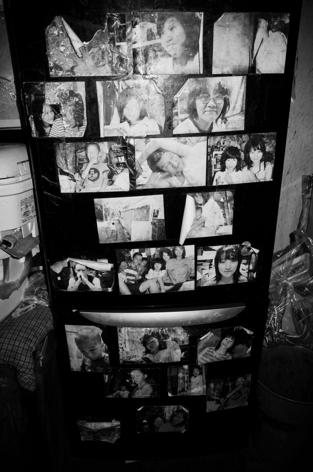 Жизнь японского фотографа и его семьи в однокомнатной квартире