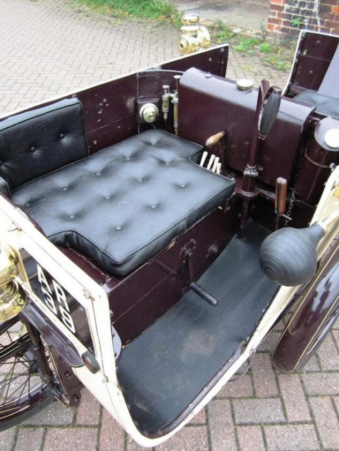 Экспериментальная машина-ромб, выпущенная в 1901 году