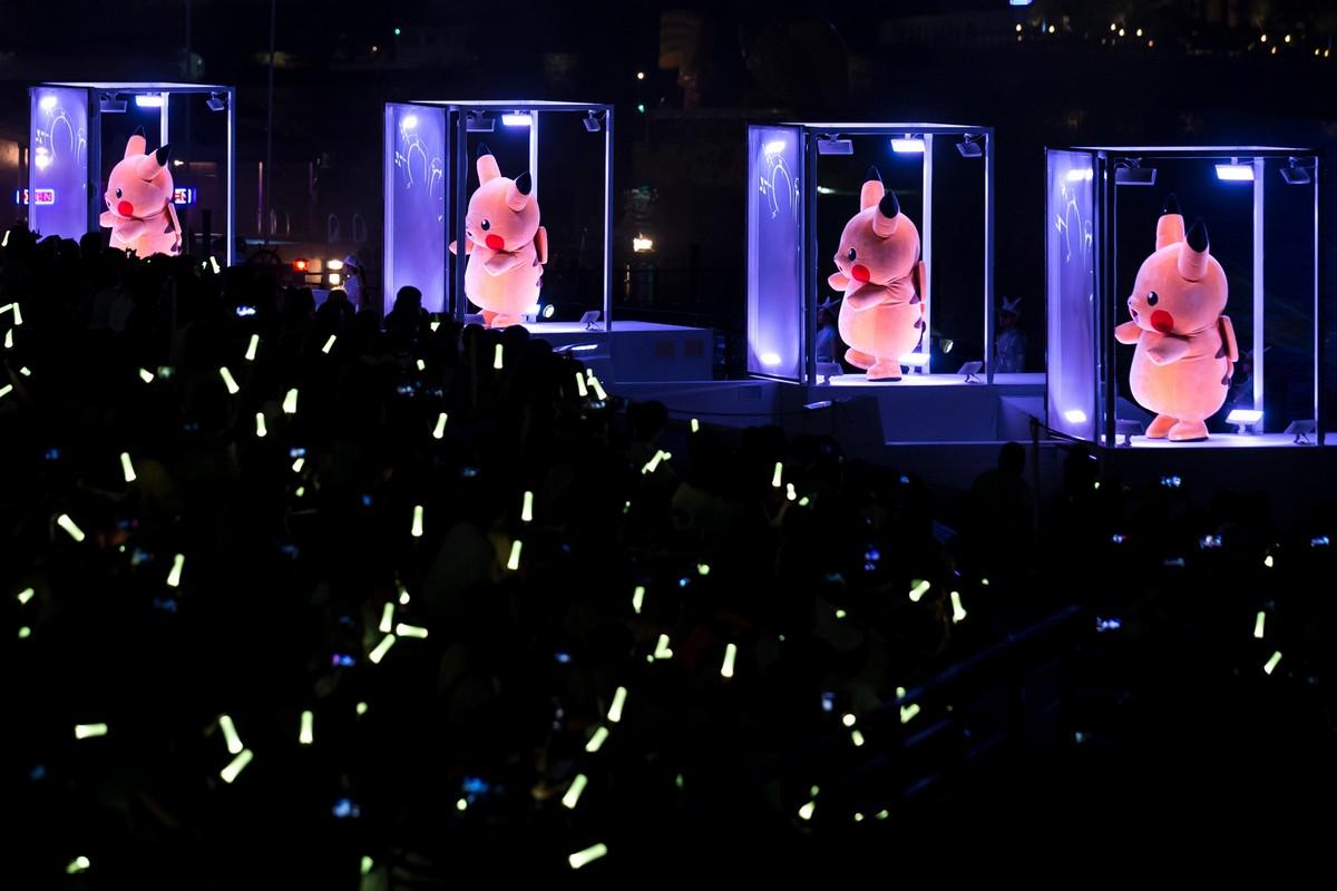 Парад Пикачу в Японии 2018