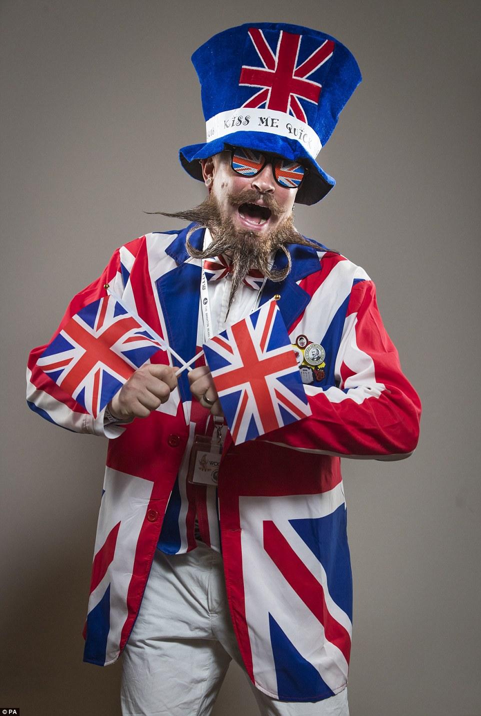 Конкурс бородачей и усачей в Великобритании 2018
