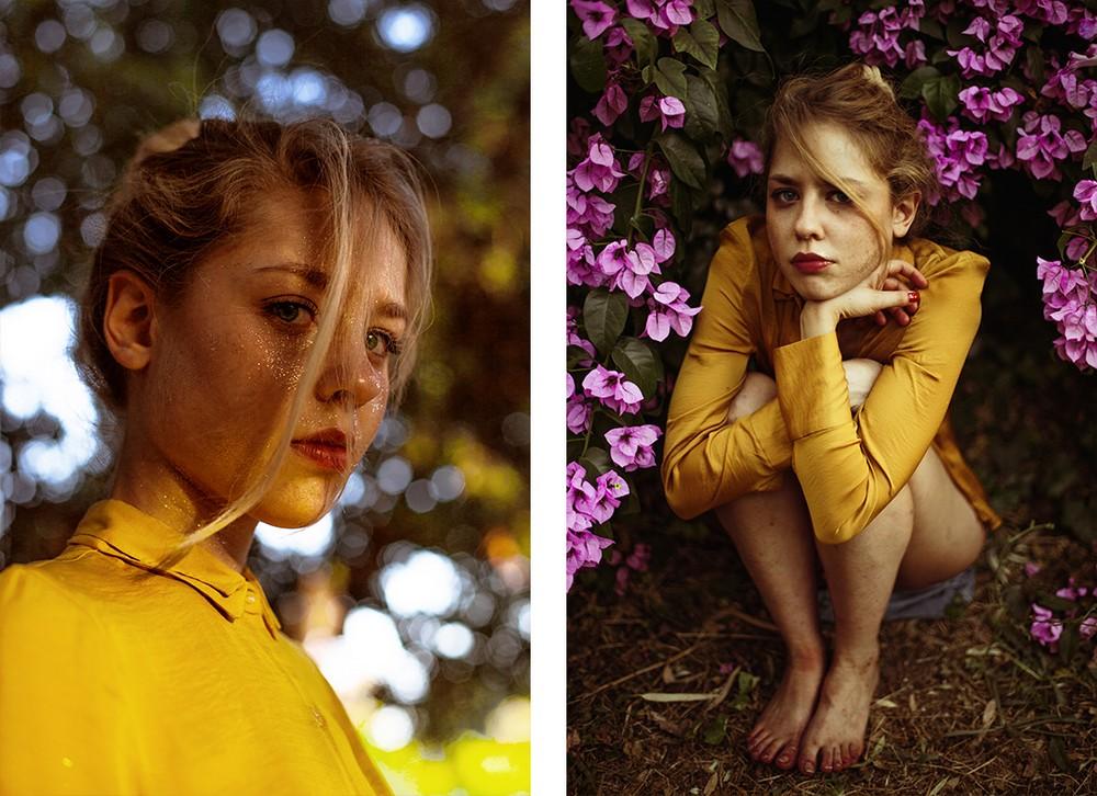 Чувственные портреты юных созданий от Guen Fiore