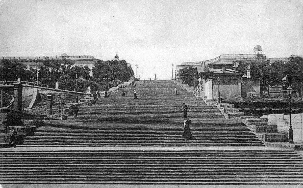 История Потемкинской лестницы в Одессе