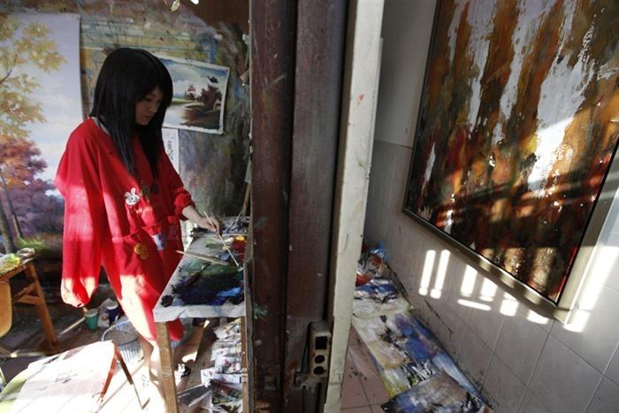 Дафен: знаменитая китайская деревня художников