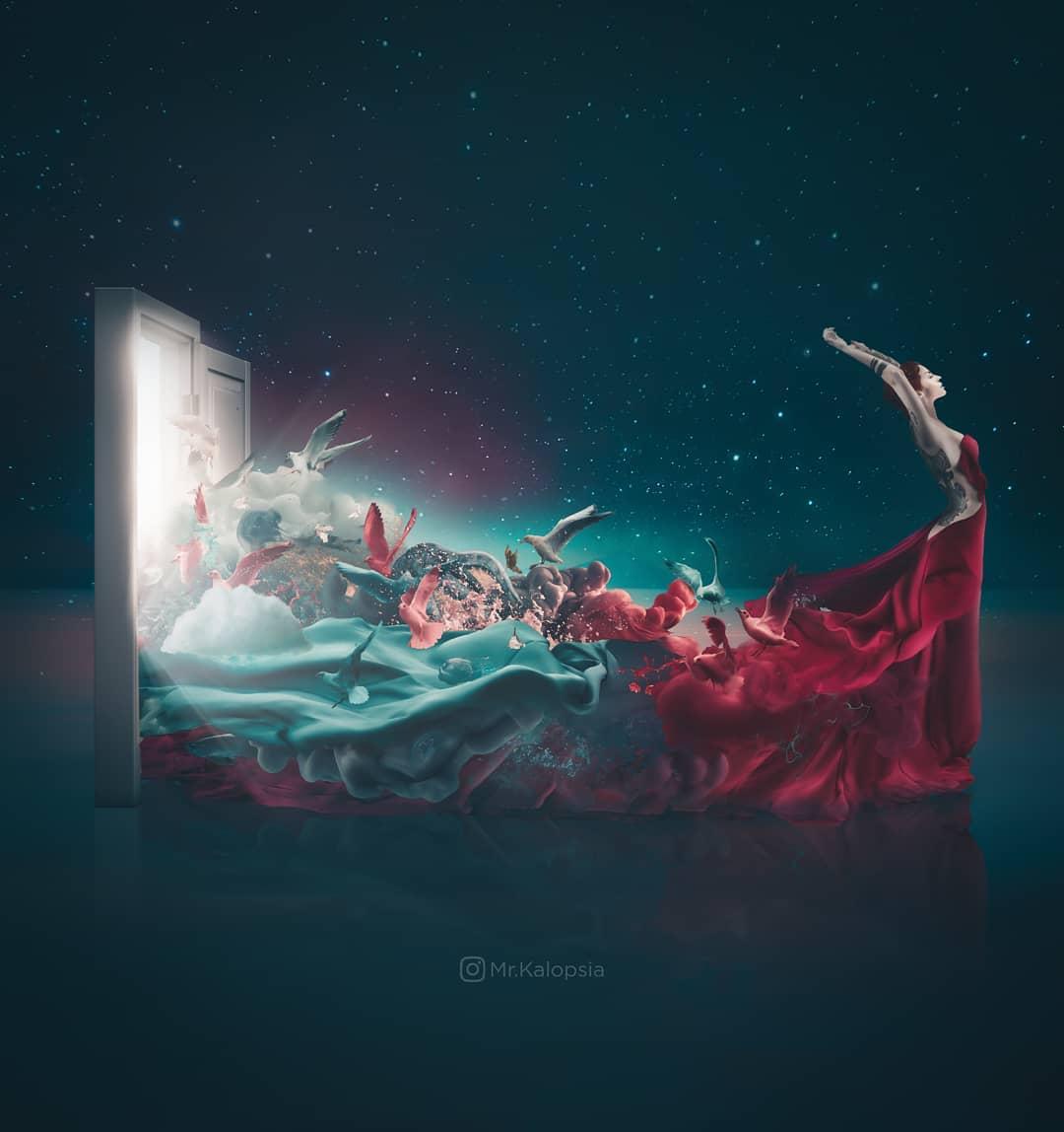Футуристические и сказочные фотоманипуляции от Eashan Misra