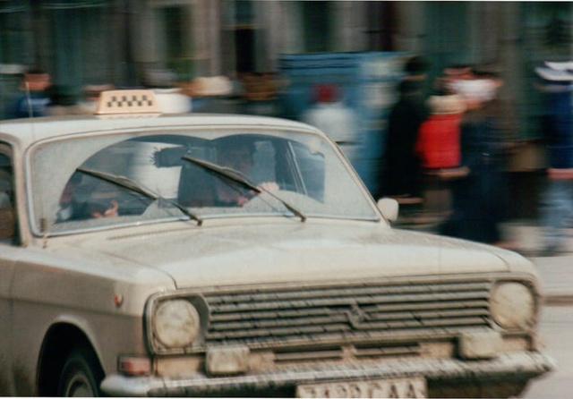 Архивные фотографии немецкого туриста: Россия, март 1992 года