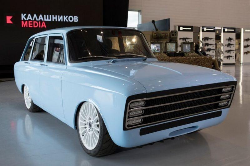 Калашников показал конкурента Tesla на базе Москвича