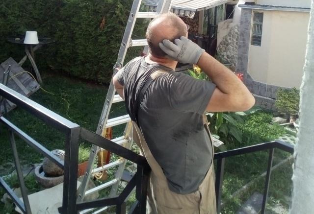 Неудача при сборке каркаса для стеклянного навеса