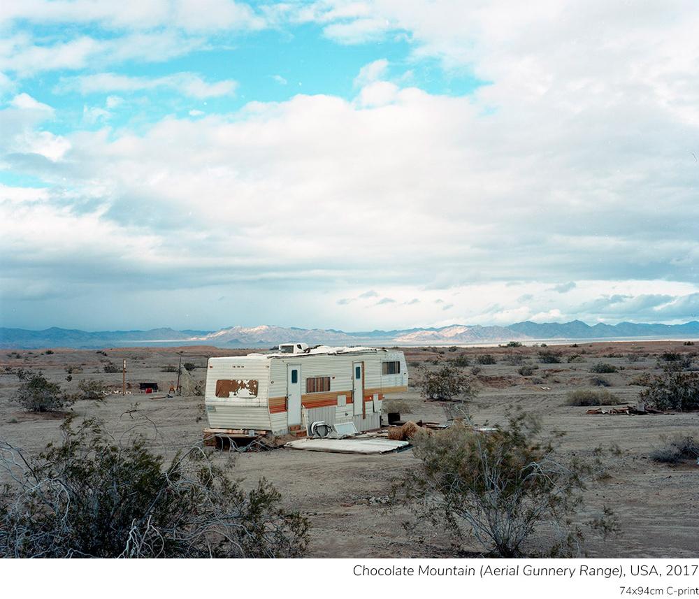 Поселение Слэб Сити в калифорнийской пустыне