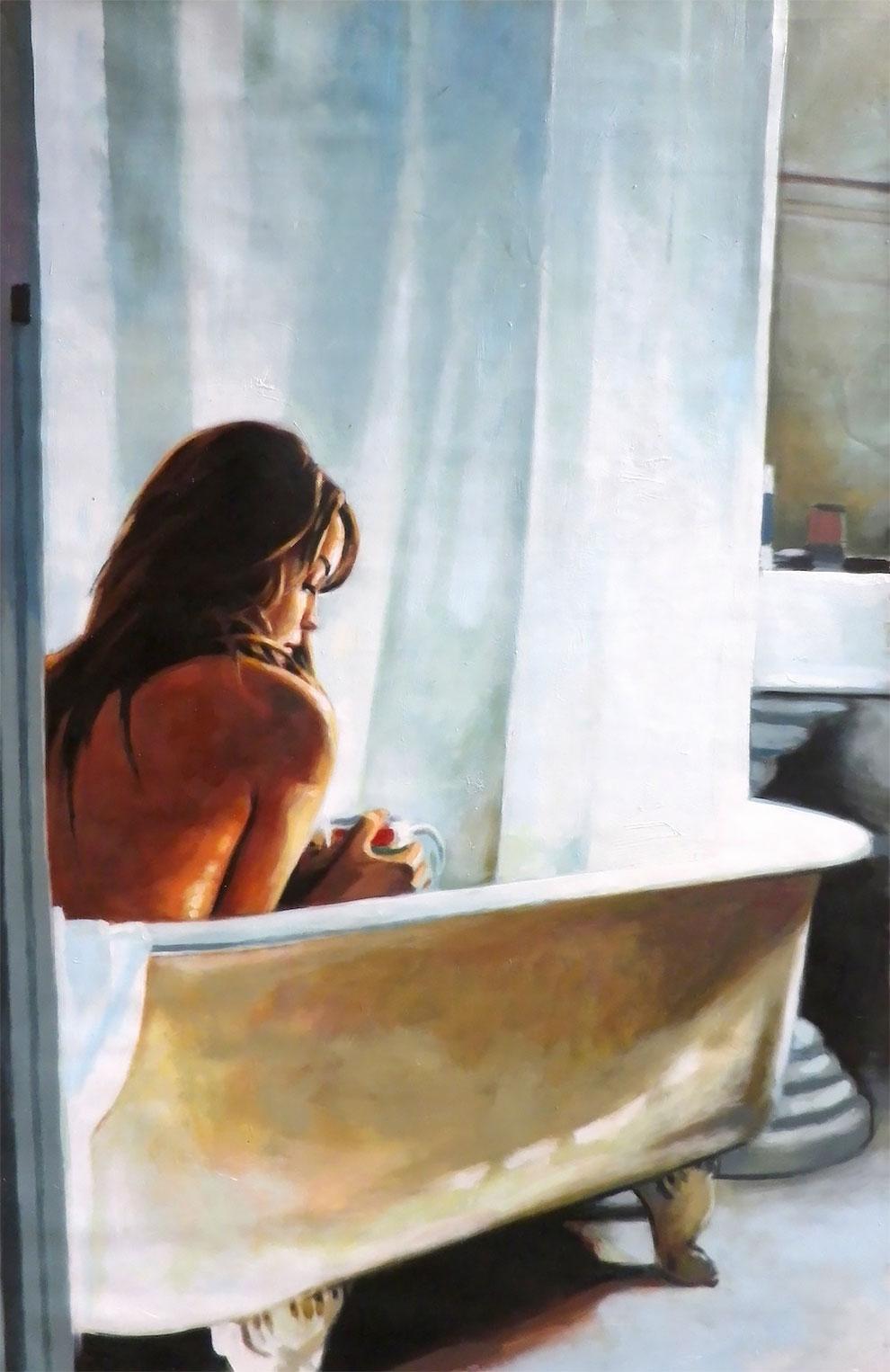 Чувственные картины маслом от Томаса Салиота