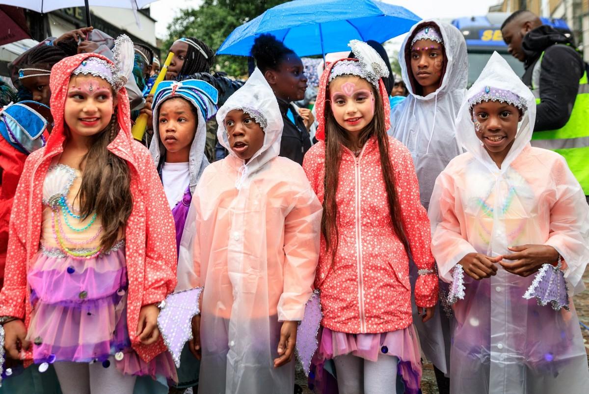 Ноттинг-Хиллский карнавал 2018 в Лондоне