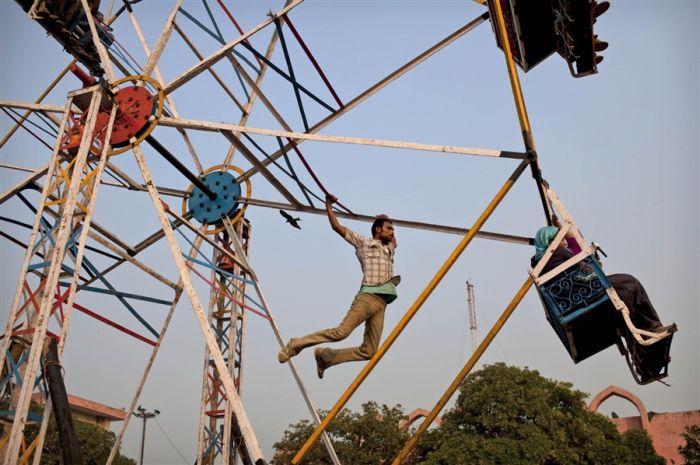 Колесо обозрения в Нью-Дели
