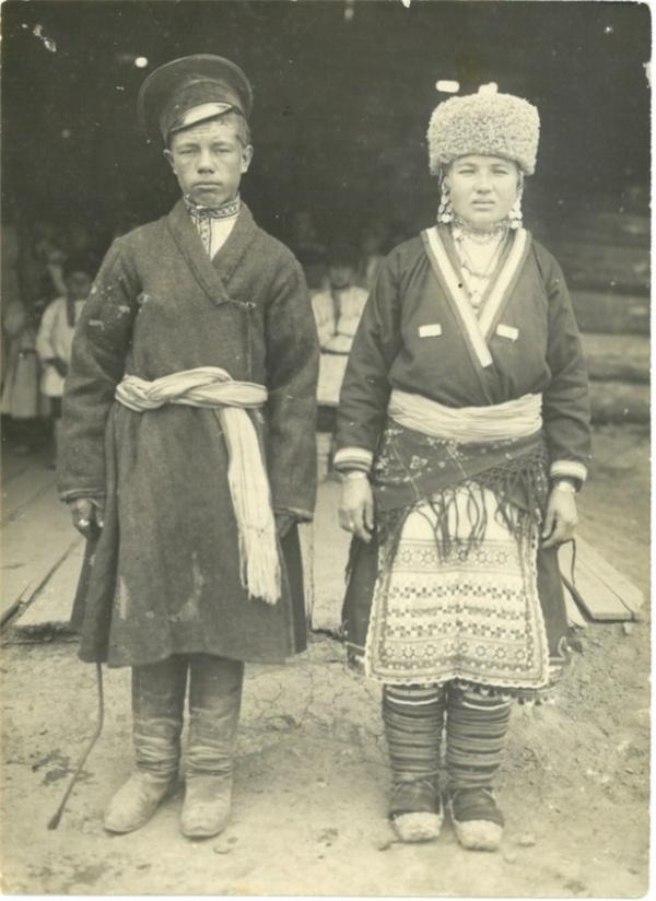 Свадебные традиции марийцев на архивных фото