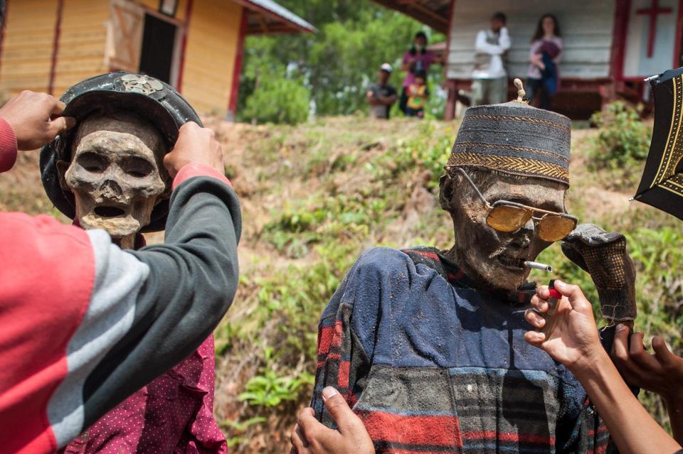 обычаи индонезии фото месте водозабора