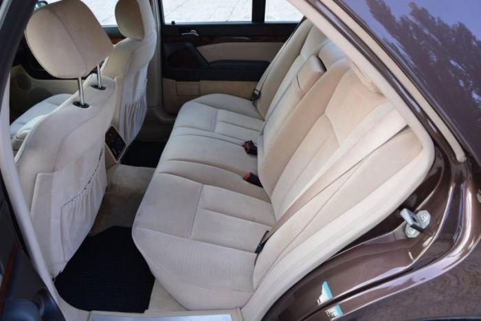 Mercedes W140 500SE 1992 Nutria с велюровым салоном