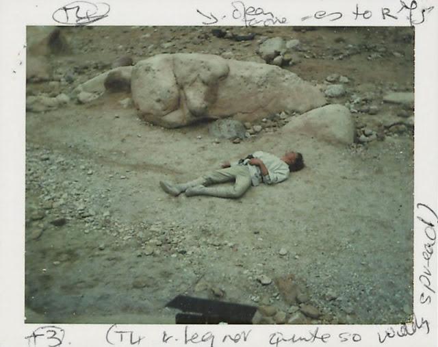 Редкие полароидные снимки со съемок Звёздных войн IV