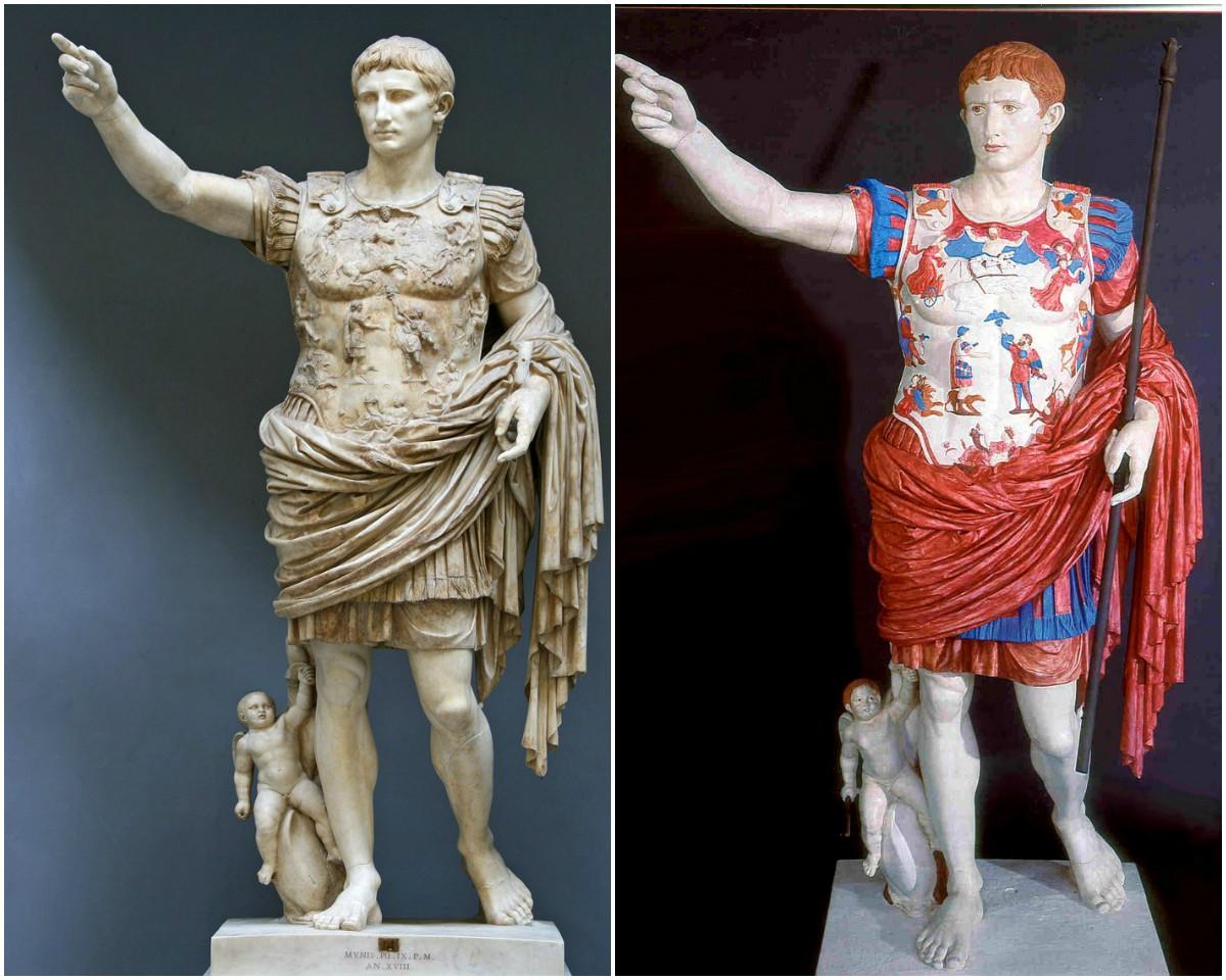Как окрашивали древнегреческие статуи