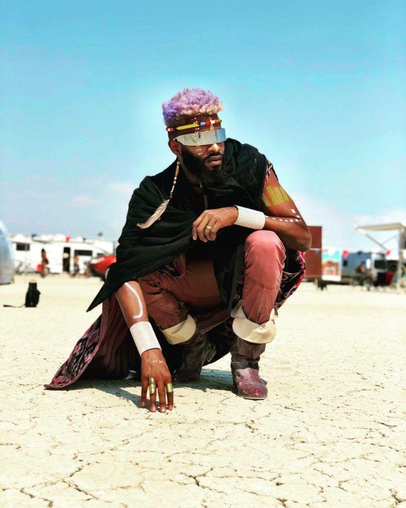 Яркие персонажи фестиваля Burning Man 2018