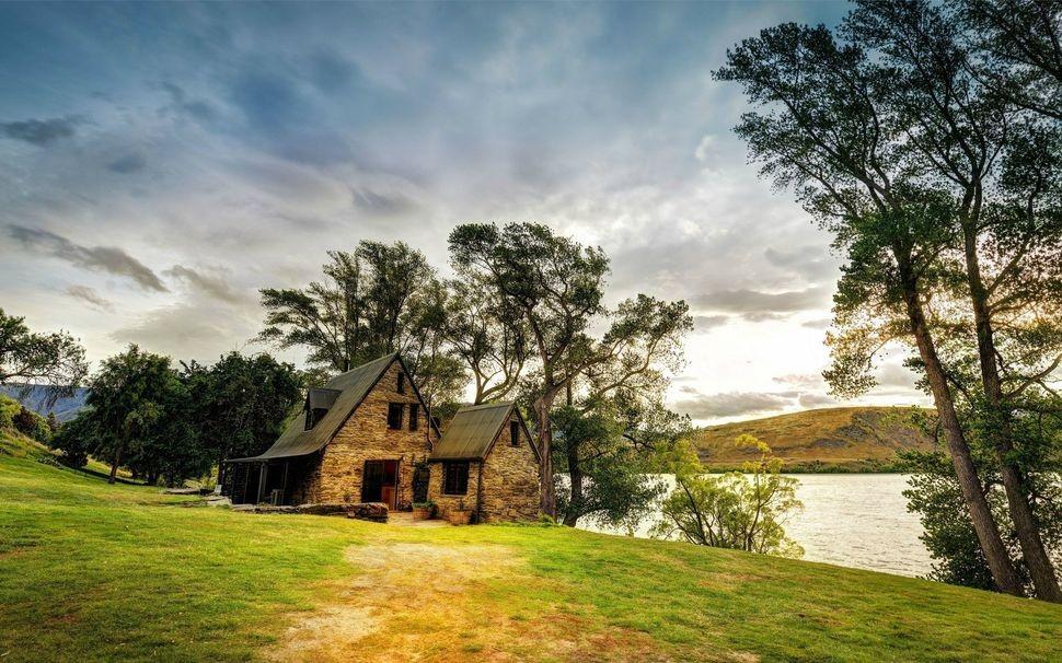 Дома в живописных местах вдали от цивилизации