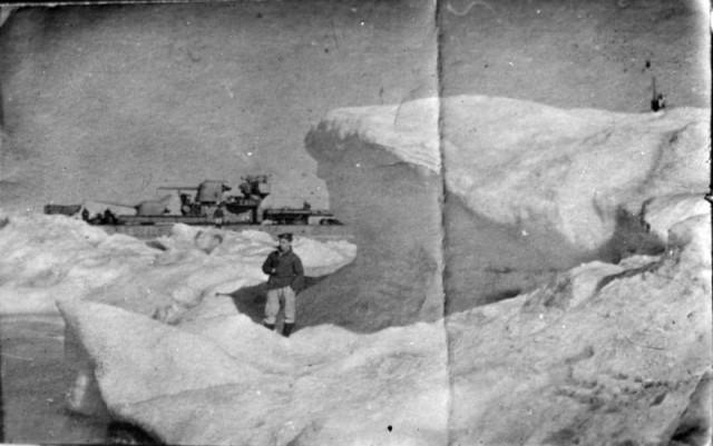 Исторические снимки моряков и судов Второй мировой войны