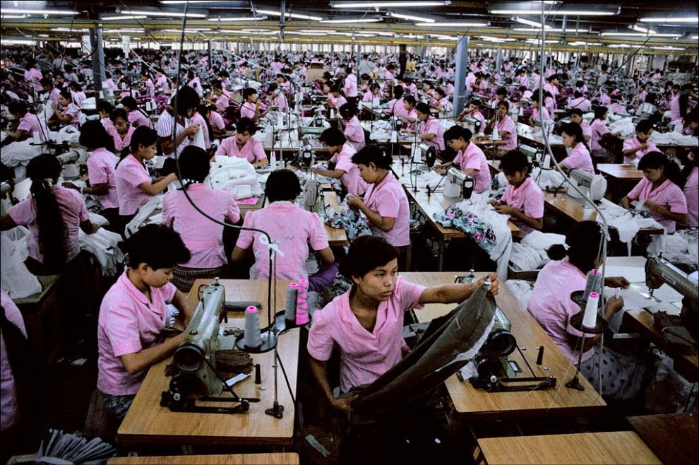 Люди за работой: фотосерия Стива МакКарри